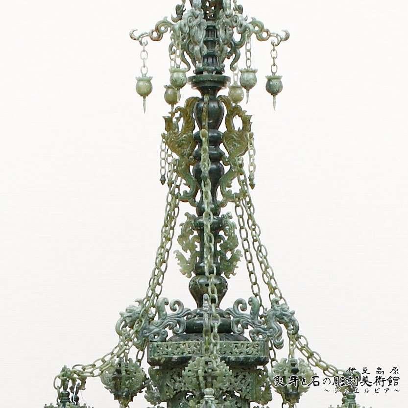 翡翠玉石 母子塔